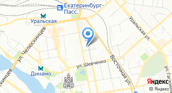 Центр технической реабилитации Отто бокк - Екатеринбург на карте