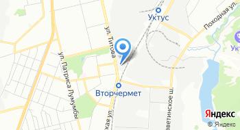 Витек на карте