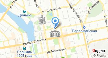Уралприватбанк на карте