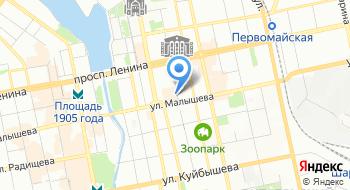Бизнес-центр Антей на карте