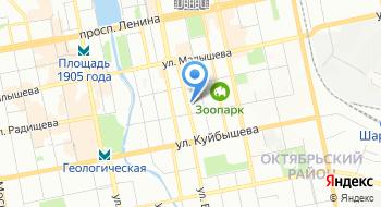 Е-Ваг на карте