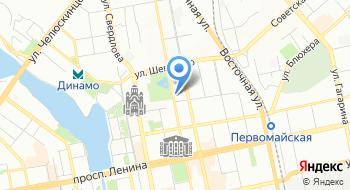 Контейнеры в Екатеринбурге на карте