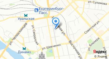 Сипаутнэт Екатеринбург на карте
