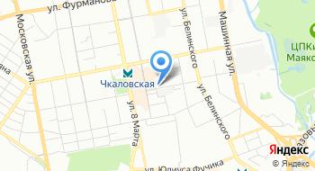 Отдел полиции № 12 УМВД России по городу Екатеринбургу на карте
