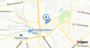 Такси Екатеринбургавто на карте