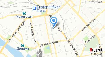 Уральский научно-исследовательский технологический институт на карте