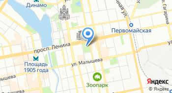 Екатеринбургский государственный академический театр оперы и балета на карте