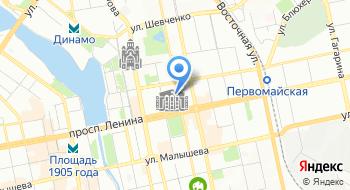Надэль на карте