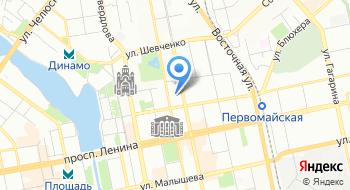 Союз стройиндустрии Свердловской области на карте