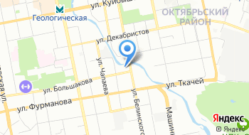 Апарт-комплекс Огни Екатеринбурга на карте