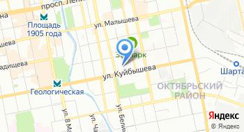 Linline на карте