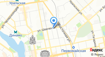 Лидер Mice Екатеринбург на карте