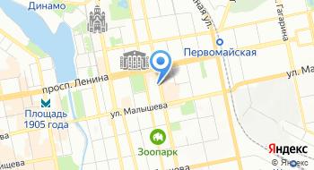 Копировальный центр Таймер на карте