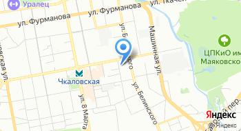 Юмо-Урал на карте
