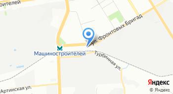 Магазин Березка на карте