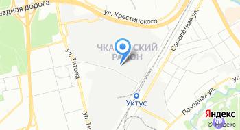 ФКУ ИК-10 ГУФСИН России по Свердловской области на карте