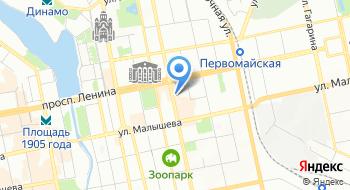 Уралбиомед на карте