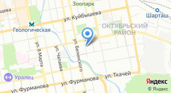 Прокуратура города Екатеринбурга на карте