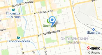 Компания UraliTex на карте