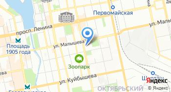 Отдел образования Октябрьского района, управление образования администрации города Екатеринбурга на карте