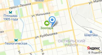 Уралцентр на карте