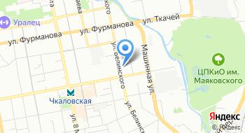 Уральский государственный экономический университет, Колледж на карте