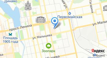Свердловская киностудия на карте