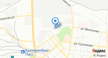 Управление специальной связи по Свердловской области на карте