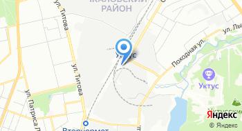 Конечная станция Табачная фабрика Альвис Емуп Трамвайно-троллейбусное управление города Екатеринбург на карте