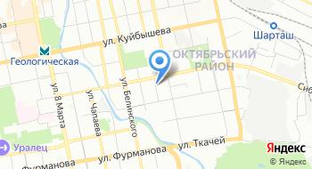 Уральский центр промышленной безопасности на карте