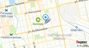 Центр услуг Деловой Урал на карте