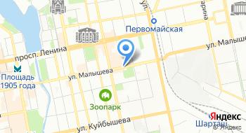 Интернет-магазин Гламурия на карте