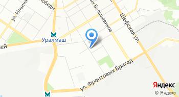 Отдел образования Орджоникидзевского района Управление образованием г. Екатеринбурга на карте