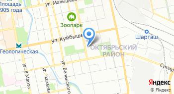 Урал Технопром на карте