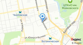 МФЦ Екатеринбурга на карте