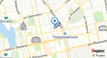 База отдыха Чусовая на карте