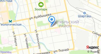 Межрегиональное управление контрольно-финансовой инспекции Министерства обороны РФ по Центральному военному округу на карте