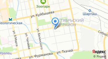Избирательная комиссия Октябрьского района на карте