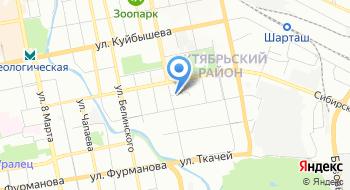 Отдел ЗАГС Октябрьского района города Екатеринбурга на карте