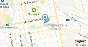 Следственный отдел по Октябрьскому району города Екатеринбург Следственного управления Следственного комитета РФ по Свердловской области на карте