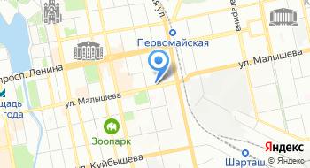 Автоломбард офис Уральский на карте
