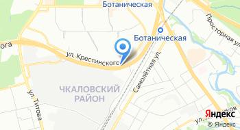 Строник на карте