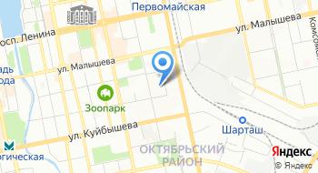 Прокуратура Октябрьского района г. Екатеринбурга на карте