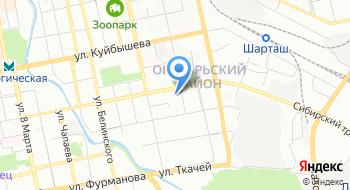МБУ ЦГКБ №1 Женская консультация Октябрьского района на карте