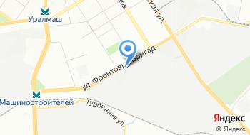 Уголовно-исполнительная Инспекция Главного Управления Федеральной Службы Исполнения Наказаний по Свердловской области на карте