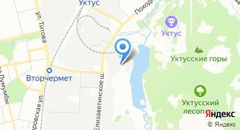 Свердловская деревообрабатывающая фабрика на карте
