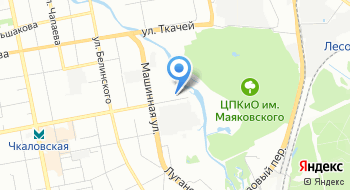 Следственное управление Следственного комитета Российской Федерации по Свердловской области на карте