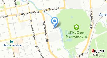 Следственное управление Следственного Комитета России по Свердловской области на карте