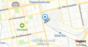 Уральское бюро Психотехнологий на карте