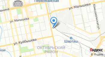 Уральская компания на карте